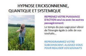 Hypnose Ericksonnienne quantique 90€